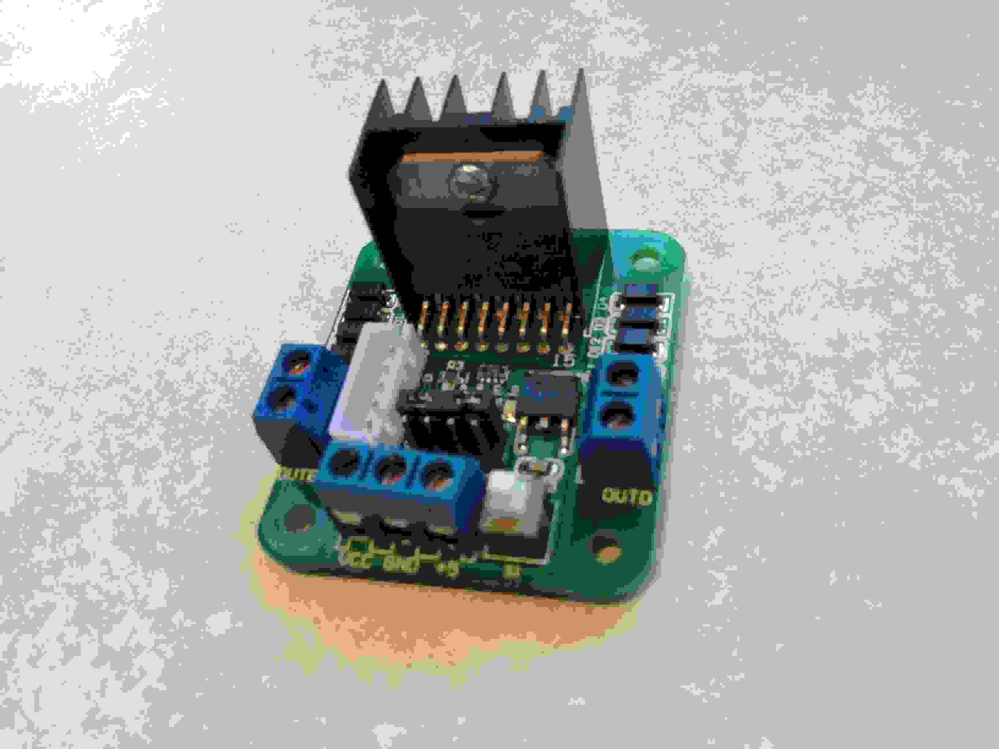 L298n Stepper Motor Controller Steppermotorcontroller