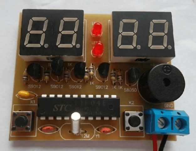 DIY Kit Digital Alarm Clock