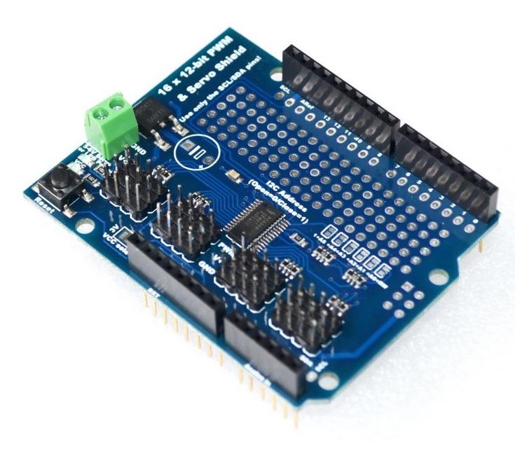 Pca9685 16 Channel 12 Bit Pwm Servo Motor Driver I2c Modul