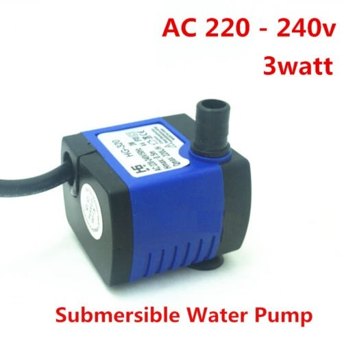 Ac 220v 240v 220l H Small Submersible Water Pump Vand